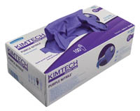 Gloves Purple nitrile-XTRA single use small