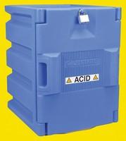 Storage cabinet acid single door 19.5 x 14.5 x 16.25 inch