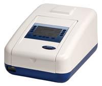 Spectrophotometer Genova Plus life science UV/visible single beam 240V 50/60Hz 275mm x 400mm x 220mm (w x d x h) 198nm to 1,000nm wavelength