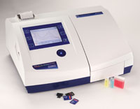 Spectrophotometer 6715 scanning, visible and UV/Visible, with automated 490mm × 390mm × 220mm